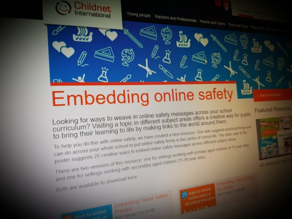 Embedding online safety