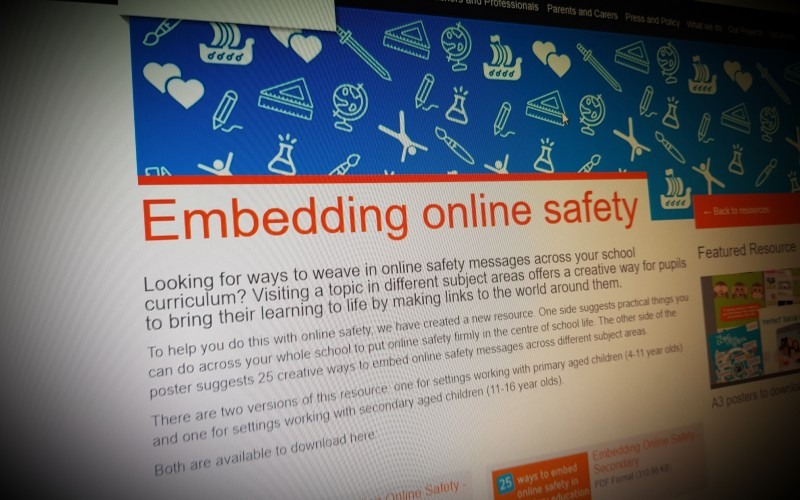Embedding online safety
