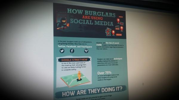 How burglars use socialmedia to rob you