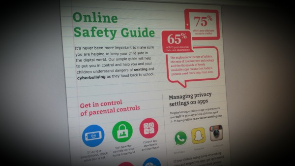 Start the school year safe online.