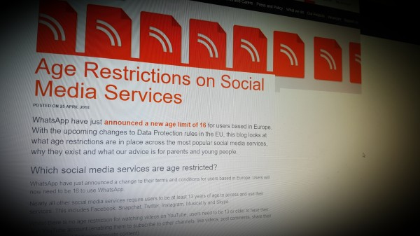Age Restrictions on Social Media Services