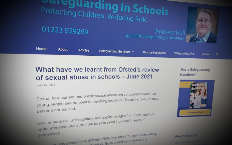 What have we learnt from Ofsted's review of sexual abuse in schools? – June 2021