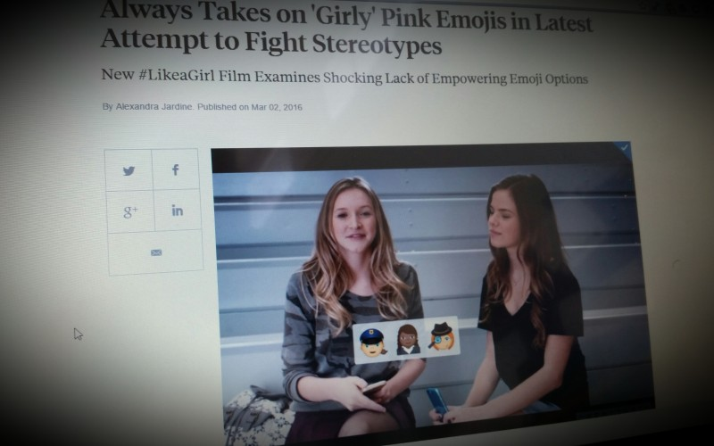 New #LikeaGirl Film Examines Shocking Lack of Empowering Emoji Options