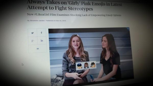 New #LikeaGirl Film Examines Shocking Lack of Empowering Emoji Options
