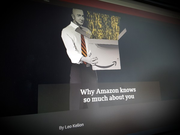 Why Amazon knows so much about you