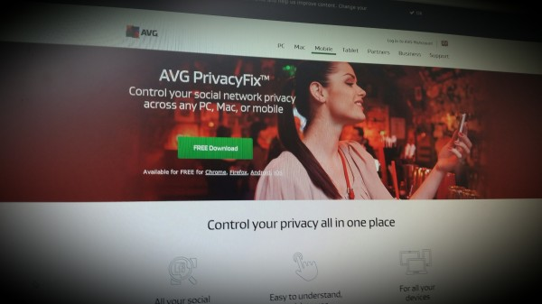 How much are you really sharing online? Try AVG PrivacyFix™