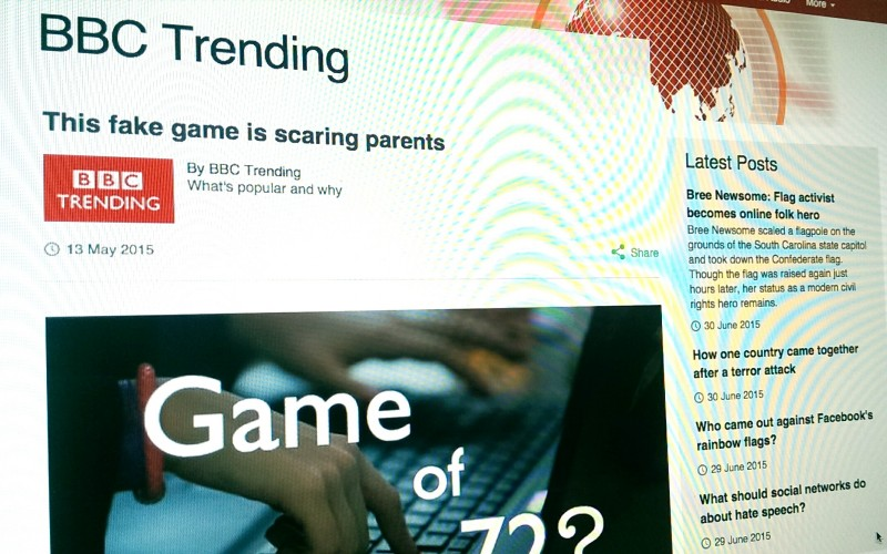 The fake 'disappearing game' that's scaring parents