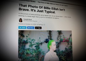 That Photo Of Billie Eilish Isn't Brave. It's Just Typical.