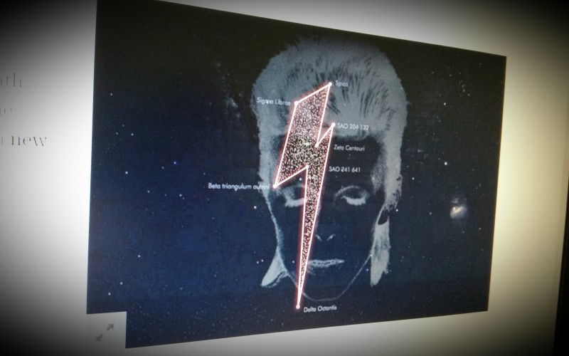 No, David Bowie doesn't have his own constellation