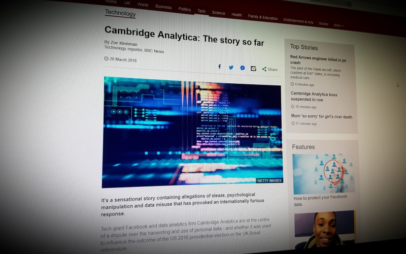 Cambridge Analytica: The story so far