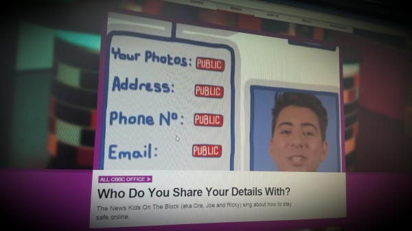 CBBC Office: Who Do You Share Your Details With?