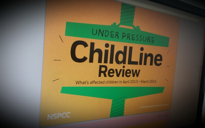 Under Pressure: Childline review. What's affected children 2013-2014