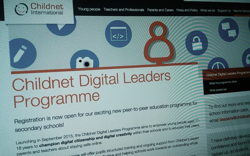 Childnet Digital Leaders Programme. Registration now open.