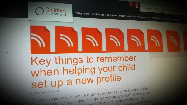 Key things to remember when helping your child set up a new profile