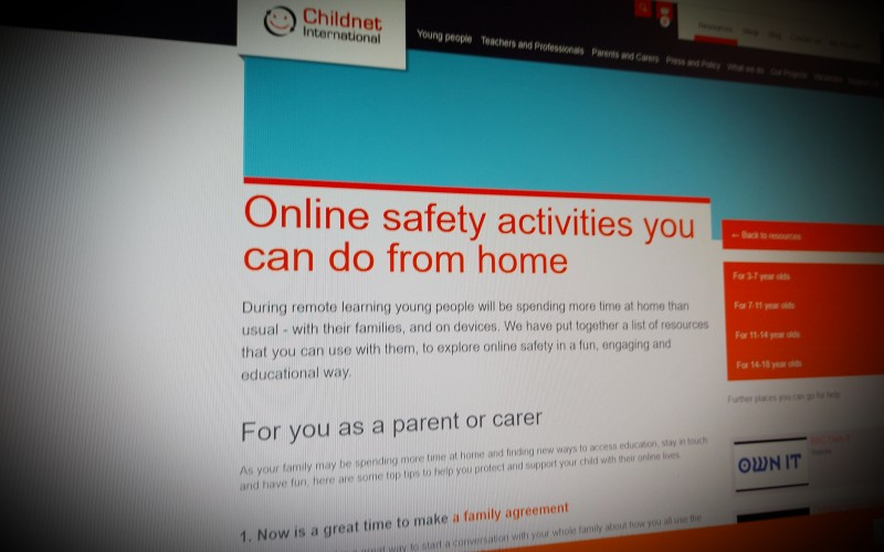 Online safety activities you can do from home