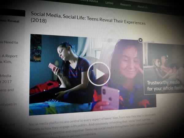 Social Media, Social Life: Teens Reveal Their Experiences (2018)