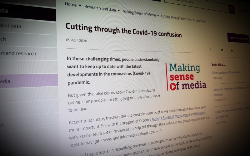 Cutting through the Covid-19 confusion