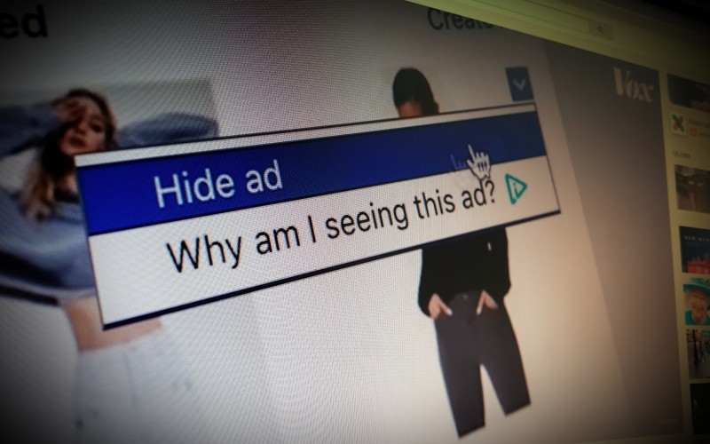 How ads follow you around the internet