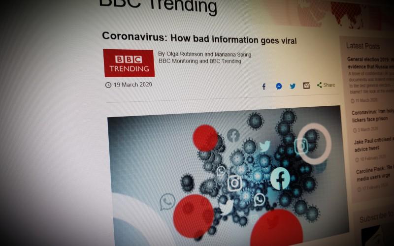 Coronavirus: How bad information goes viral