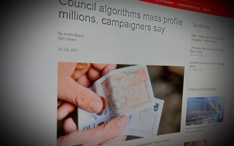 Council algorithms mass profile millions, campaigners say