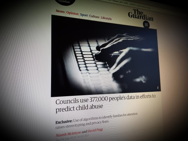 Councils use 377,000 people's data in efforts to predict child abuse
