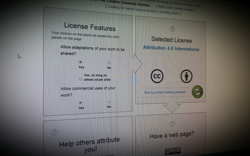 Creative Commons - licences easily explained