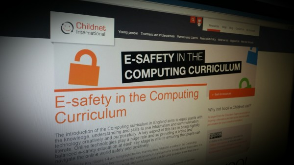 Resources for teaching esafety in the computing curriculum