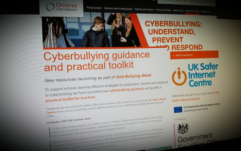 Cyberbullying guidance and practical toolkit