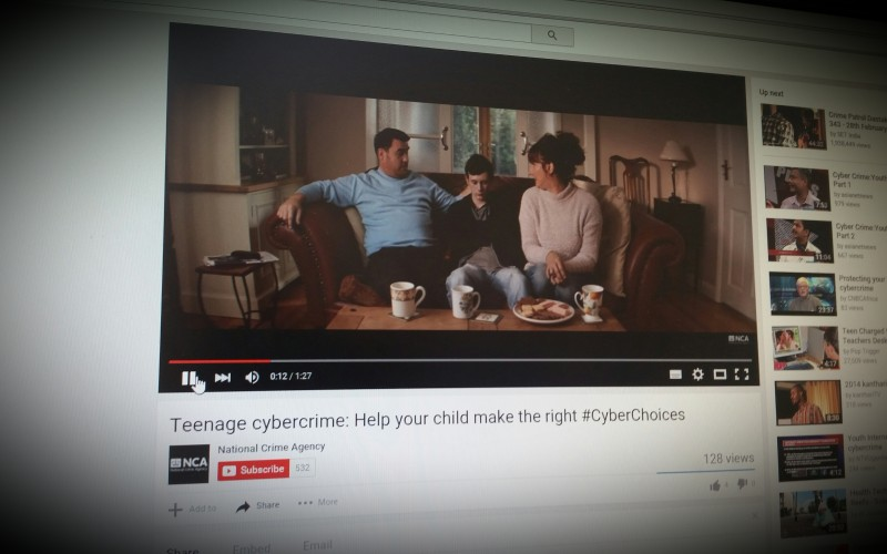 Teenage cybercrime: Help your child make the right #CyberChoices