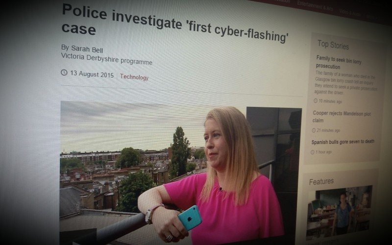 Police investigate 'first cyber-flashing' case