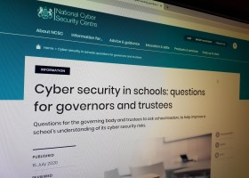 Cyber security in schools: questions for governors and trustees