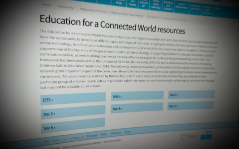 Education for a Connected World resources