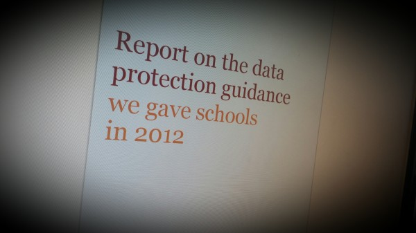 Data Protection Guidance for Schools 2012