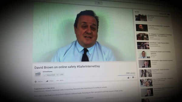 David Brown HMI on online safety and Ofsted inspection