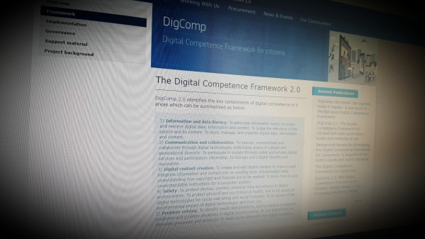 The Digital Competence Framework 2.0