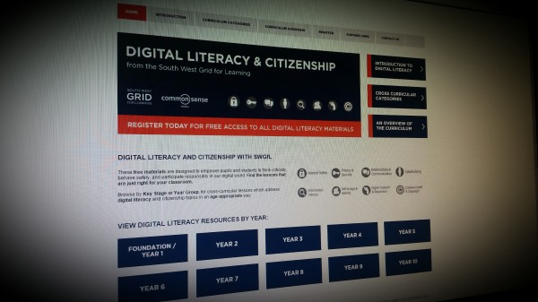 Digital literacy and citizenship teaching resources