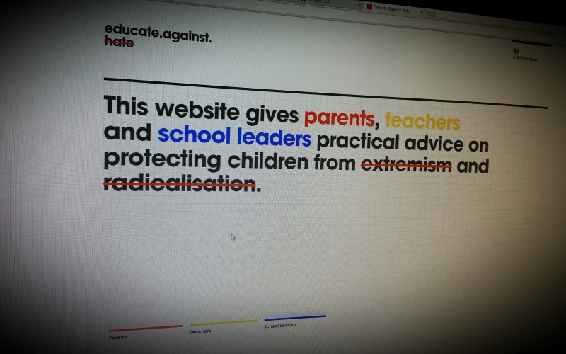 Educate Against Hate. UK government website and education resource