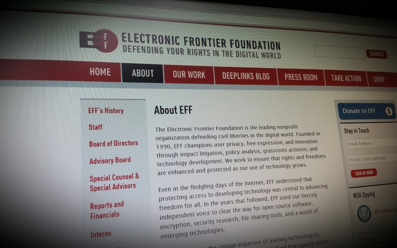 Electronic Frontier Foundation - Defending your rights in the digital world