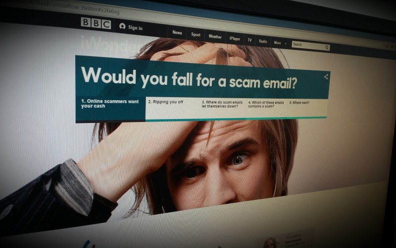 Would You Fall For a Scam Email?