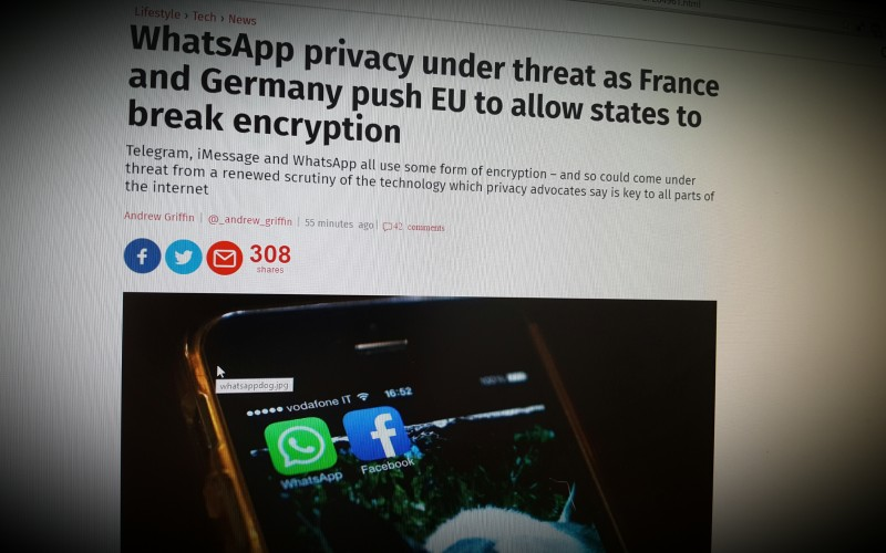 WhatsApp privacy under threat as France and Germany push EU to allow states to break encryption