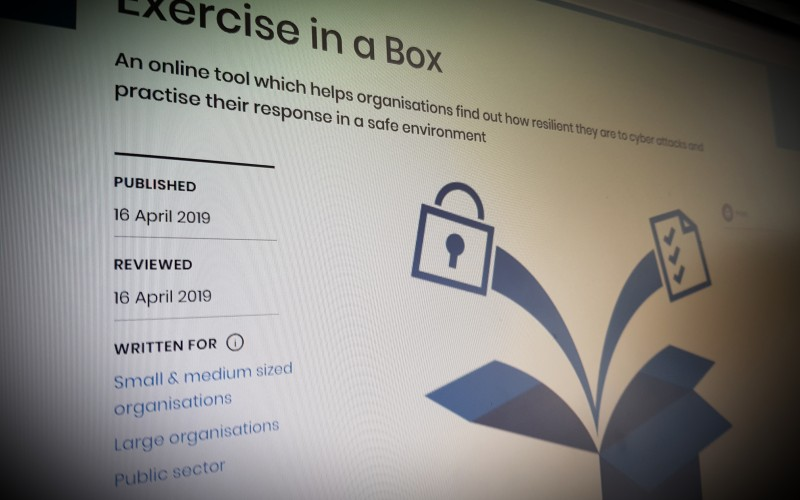 Exercise in a Box