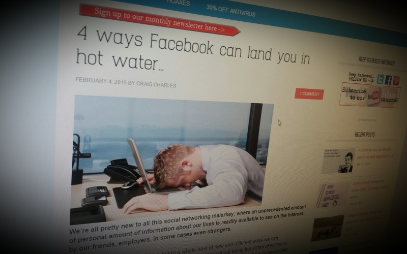 3 ways Facebook can land you in hot water…