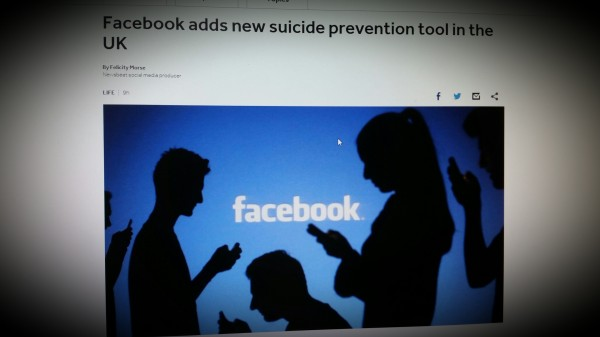 Facebook adds new suicide prevention tool in the UK