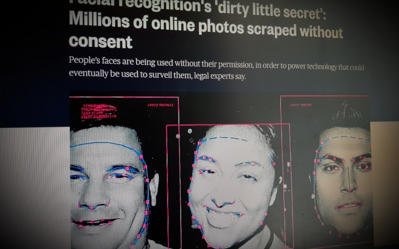 Facial recognition's 'dirty little secret': Millions of online photos scraped without consent