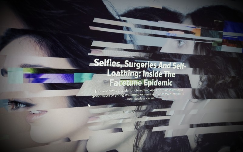 Selfies, Surgeries And Self-Loathing: Inside The Facetune Epidemic