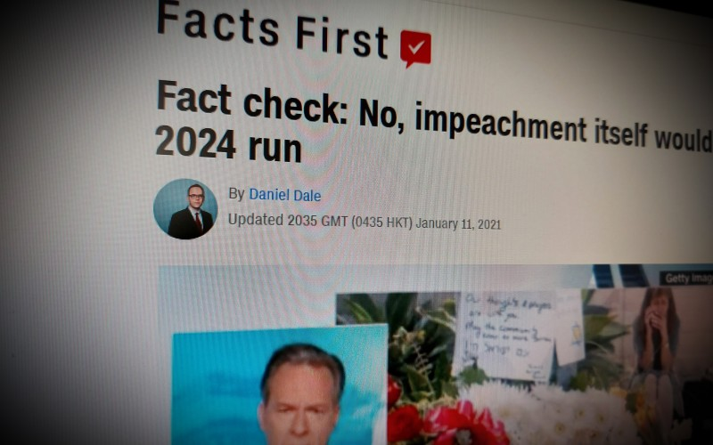 Fact check: No, impeachment itself would not ban Trump from a 2024 run