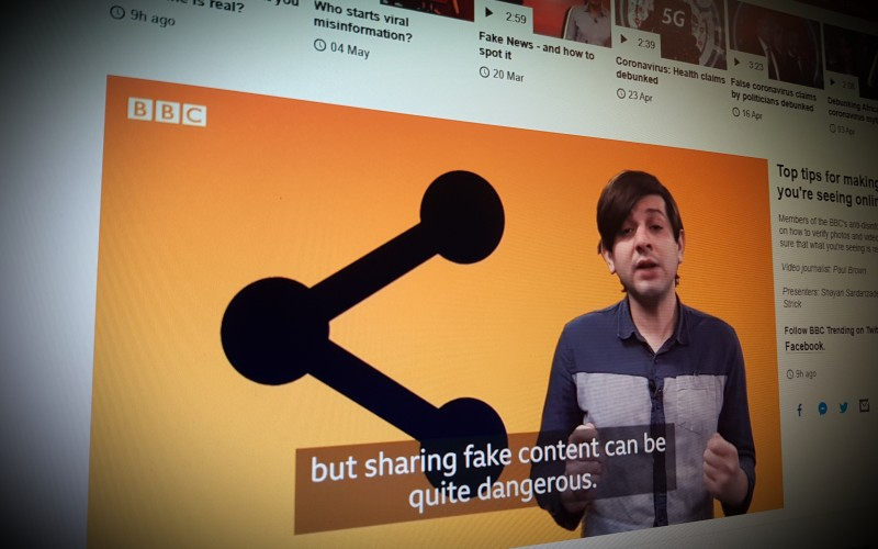 Top tips for making sure what you're seeing online is legitimate
