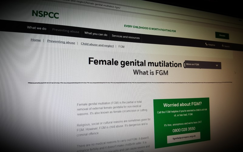 Female genital mutilation (FGM) - A resource by NSPCC