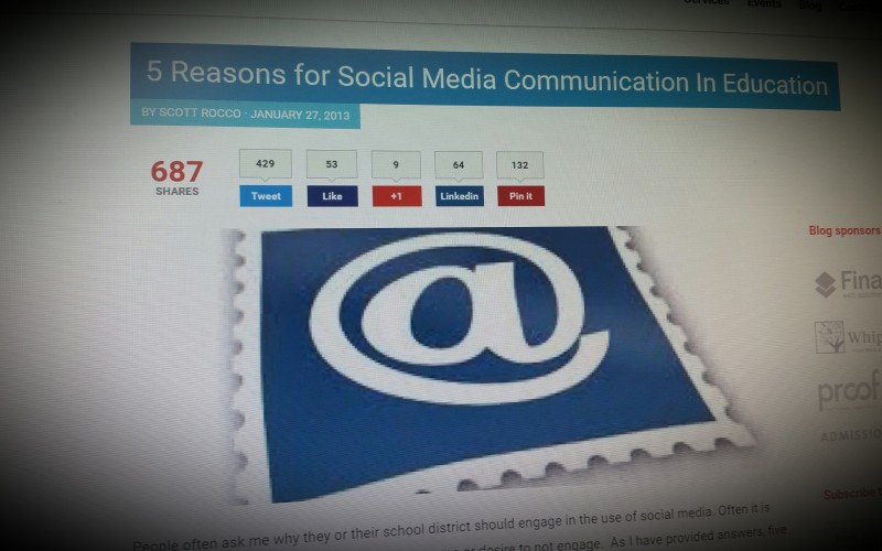 5 Reasons for Social Media Communication in Education