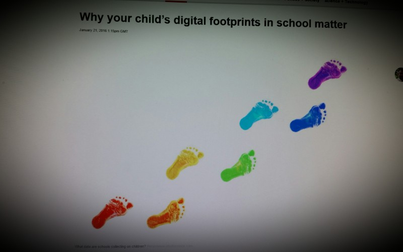 Why your child's digital footprints in school matter